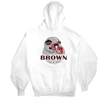Brown Bears Modern Helmet Hoody