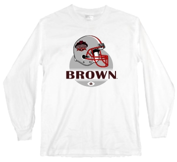 Brown Bears Modern Helmet Long Sleeve Tee