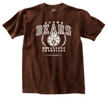 Brown Bears '85 Basketball League Champs Tee