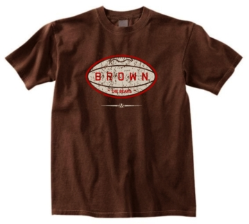 Brown Bears Pigskin Tee