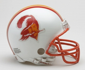 1976-1996 Tampa Bay Buccaneers Throwback Mini Helmet