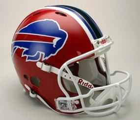 Buffalo Bills Full Size Revolution Helmet