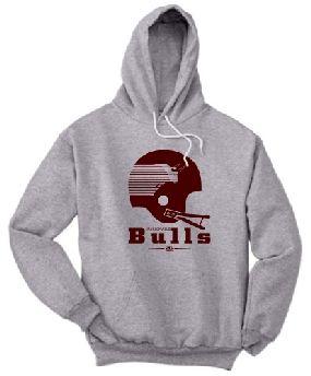 Jacksonville Bulls Helmet Hoody