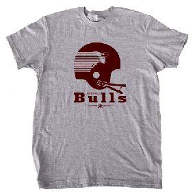 Jacksonville Bulls Helmet Tee