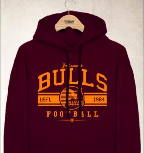 Jacksonville Bulls Logo Hoody