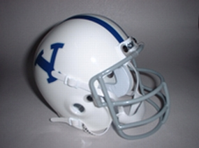 1978 Brigham Young Cougars Throwback Mini Helmet