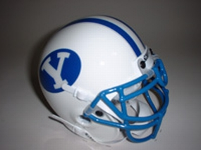 1984 Brigham Young Cougars Throwback Mini Helmet