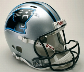 Carolina Panthers Full Size Revolution Helmet