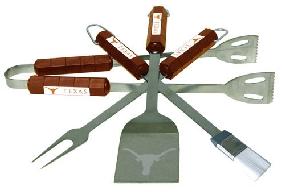 Texas Longhorns BBQ Tool Set