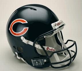 Chicago Bears Full Size Revolution Helmet