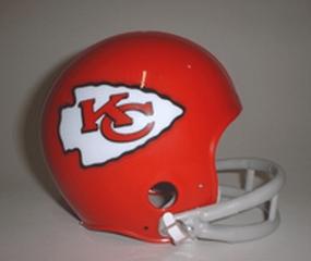 1963-1973 Kansas City Chiefs Throwback Mini Helmet