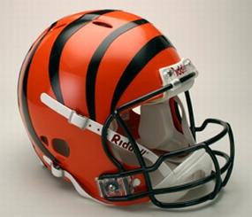 Cincinnati Bengals Full Size Revolution Helmet