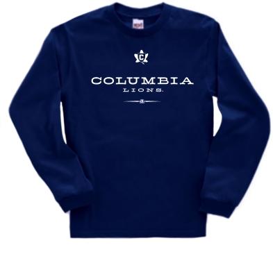 Columbia Lions Commons Long Sleeve Tee