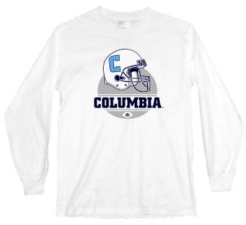 Columbia Lions Modern Helmet Long Sleeve Tee
