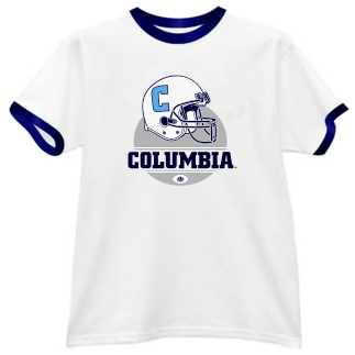 Columbia Lions Modern Helmet Ringer Tee