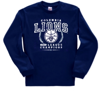 Columbia Lions '67 Basketball League Champs Long SleeveTee