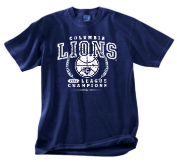 Columbia Lions '67 Basketball League Champs Tee