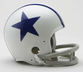 1960-1963 Dallas Cowboys Throwback Mini Helmet