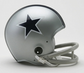 1964-1966 Dallas Cowboys Throwback Mini Helmet