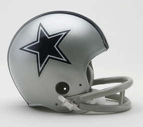 1967 Dallas Cowboys Throwback Mini Helmet