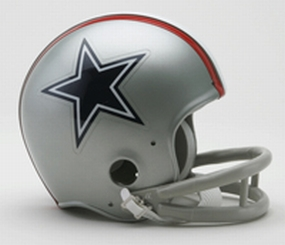 1976 Dallas Cowboys Throwback Mini Helmet