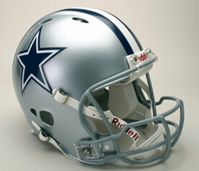 Dallas Cowboys Full Size Revolution Helmet