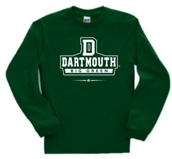 Dartmouth Big Green Big Green Long Sleeve Tee