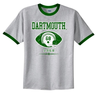 Dartmouth Big Green '68 Helmet Ringer Tee
