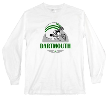 Dartmouth Big Green Modern Helmet Long Sleeve Tee