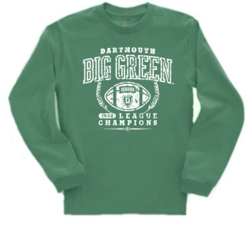 Dartmouth Big Green '58 Football League Champs Long Sleeve Tee