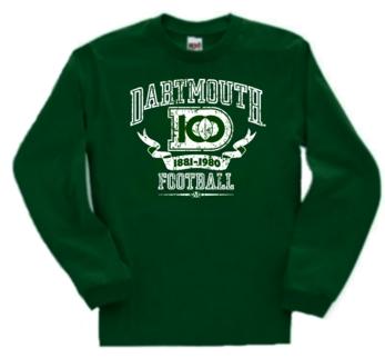 Dartmouth Big Green 100 Years of Football Long Sleeve Tee