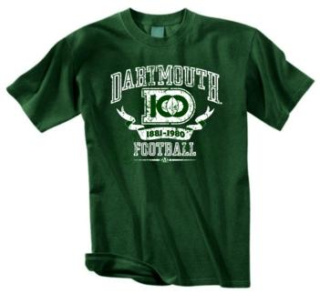 Dartmouth Big Green 100 Years of Football Tee