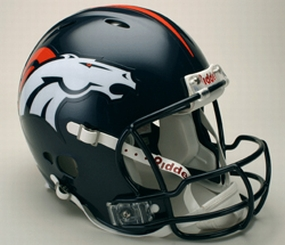 Denver Broncos Full Size Revolution Helmet