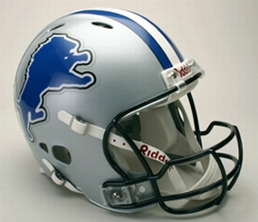 Detroit Lions Full Size Revolution Helmet