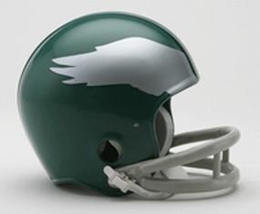 1955-1969 Philadelphia Eagles Throwback Mini Helmet