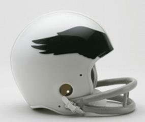 1969-1973 Philadelphia Eagles Throwback Mini Helmet