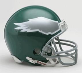1974-1995 Philadelphia Eagles Throwback Mini Helmet