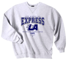 Los Angeles Express USFL Crew