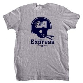 USFL Los Angeles Express Helmet Tee