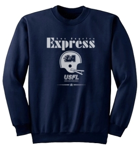 USFL Los Angeles Express Locker Crew