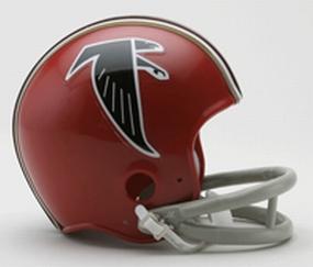 1966-1969 Atlanta Falcons Throwback Mini Helmet