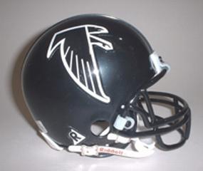1990-2002 Atlanta Falcons Throwback Mini Helmet