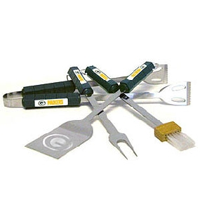 Green Bay Packers BBQ Tool Set