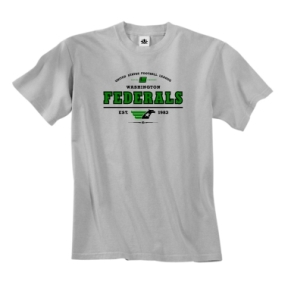 Washington Federals USFL Oxford T-Shirt