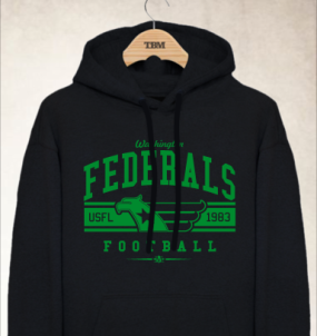 Washington Federals Logo Hoody