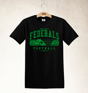 Washington Federals Logo Tee