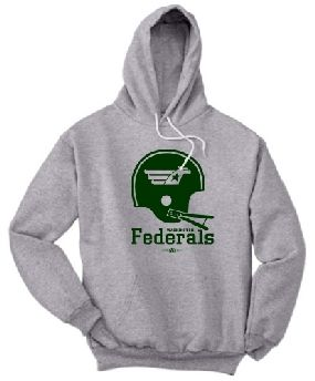 Washington Federals Helmet Hoody