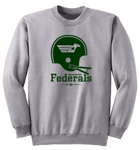 Washington Federals Helmet Crew