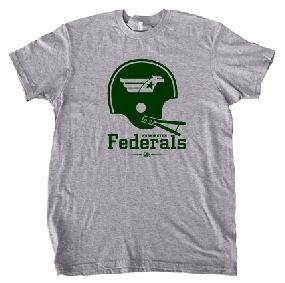 USFL Washington Federals Helmet Tee