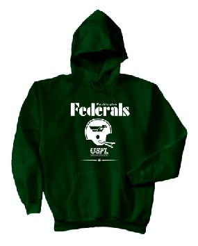 USFL Washington Federals Locker Hoody
